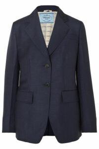 Prada - Mohair And Wool-blend Blazer - Navy