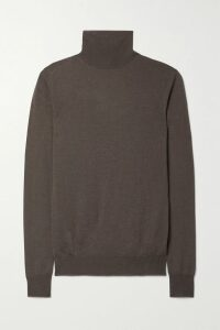 Golden Goose - Running Sole Distressed Snake-effect Leather, Suede And Mesh Sneakers - Taupe