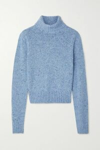 Etro - Printed Fil Coupé Silk-blend Georgette Shirt - Plum