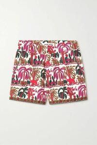 Valentino - Wool And Silk-blend Mini Skirt - Black