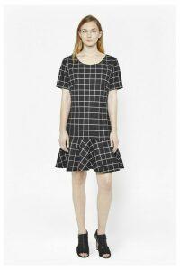 Herringbone Gingham Dress