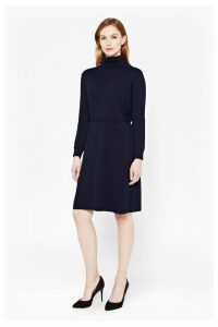 Rocking Roll Neck Dress