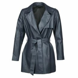 Oakwood  61865  women's Trench Coat in Blue