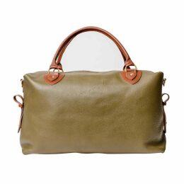 N'Damus London - Regency Olive Leather Travel Bag