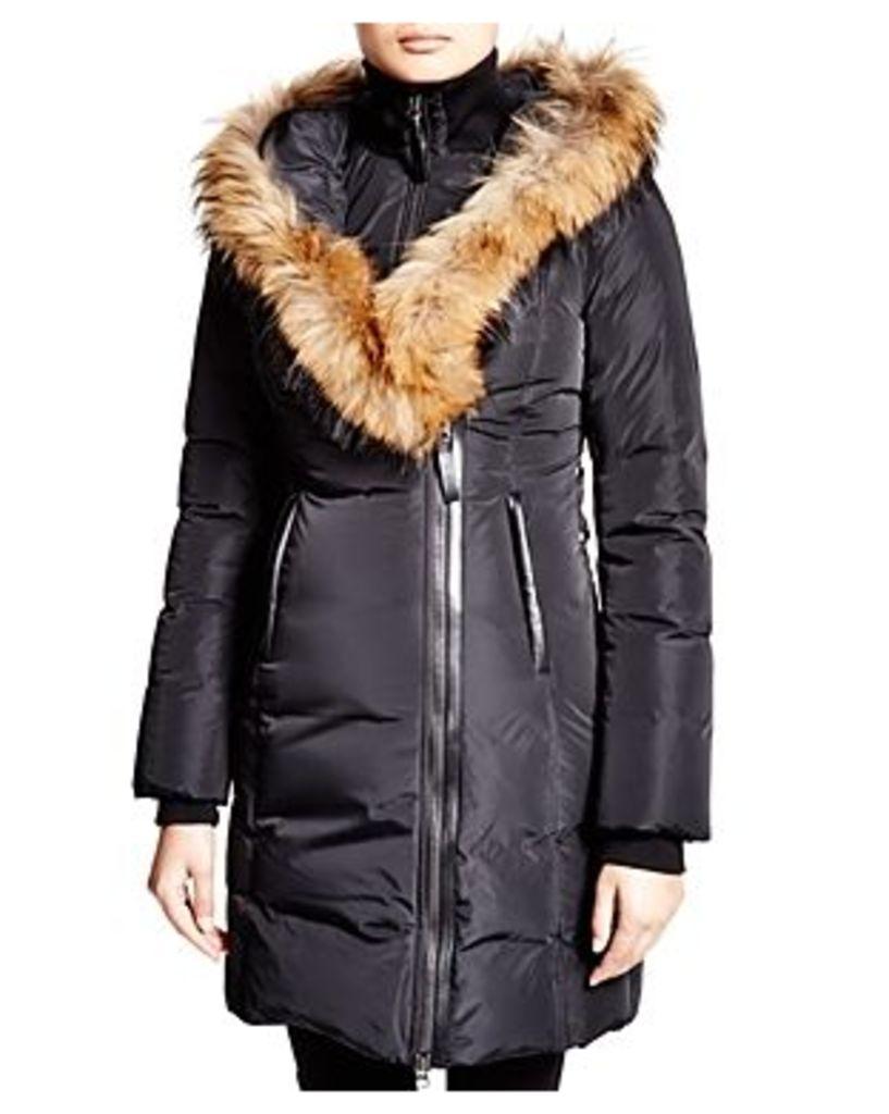 Mackage Kay Lavish Fur Trim Down Coat