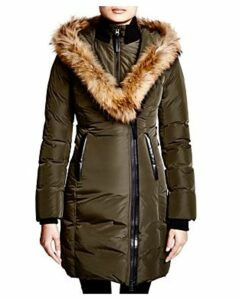 Mackage Kay Lavish Fur Trim Down Coat