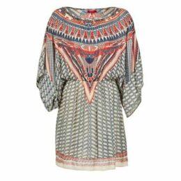 Derhy  EFFROI  women's Dress in Beige