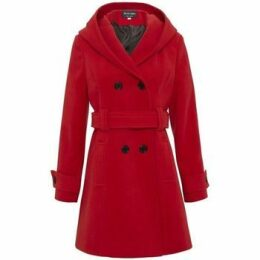 De La Creme  Winter Hooded Coat  women's Parka in Red