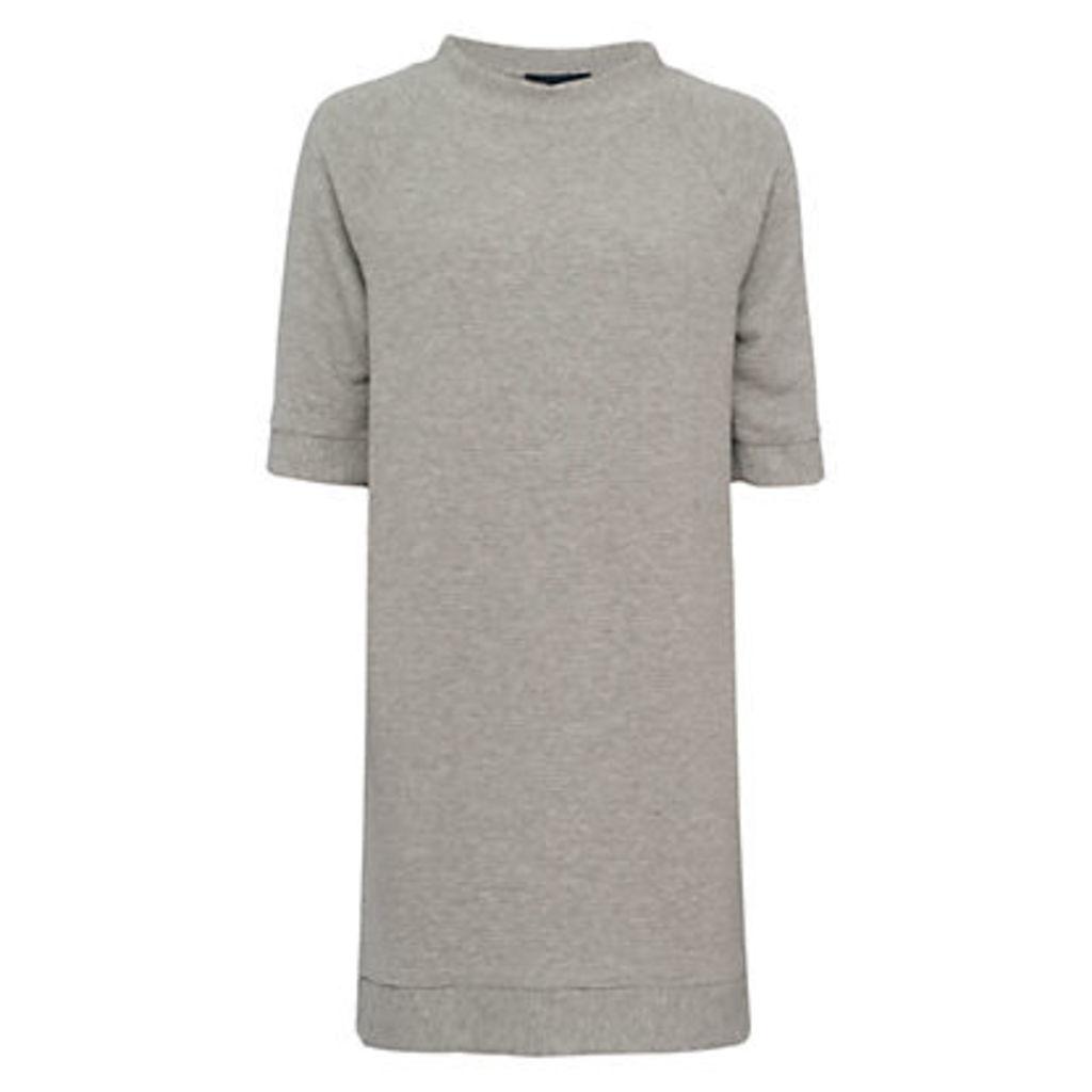 French Connection Summer Sudan Raglan Dress, Grey