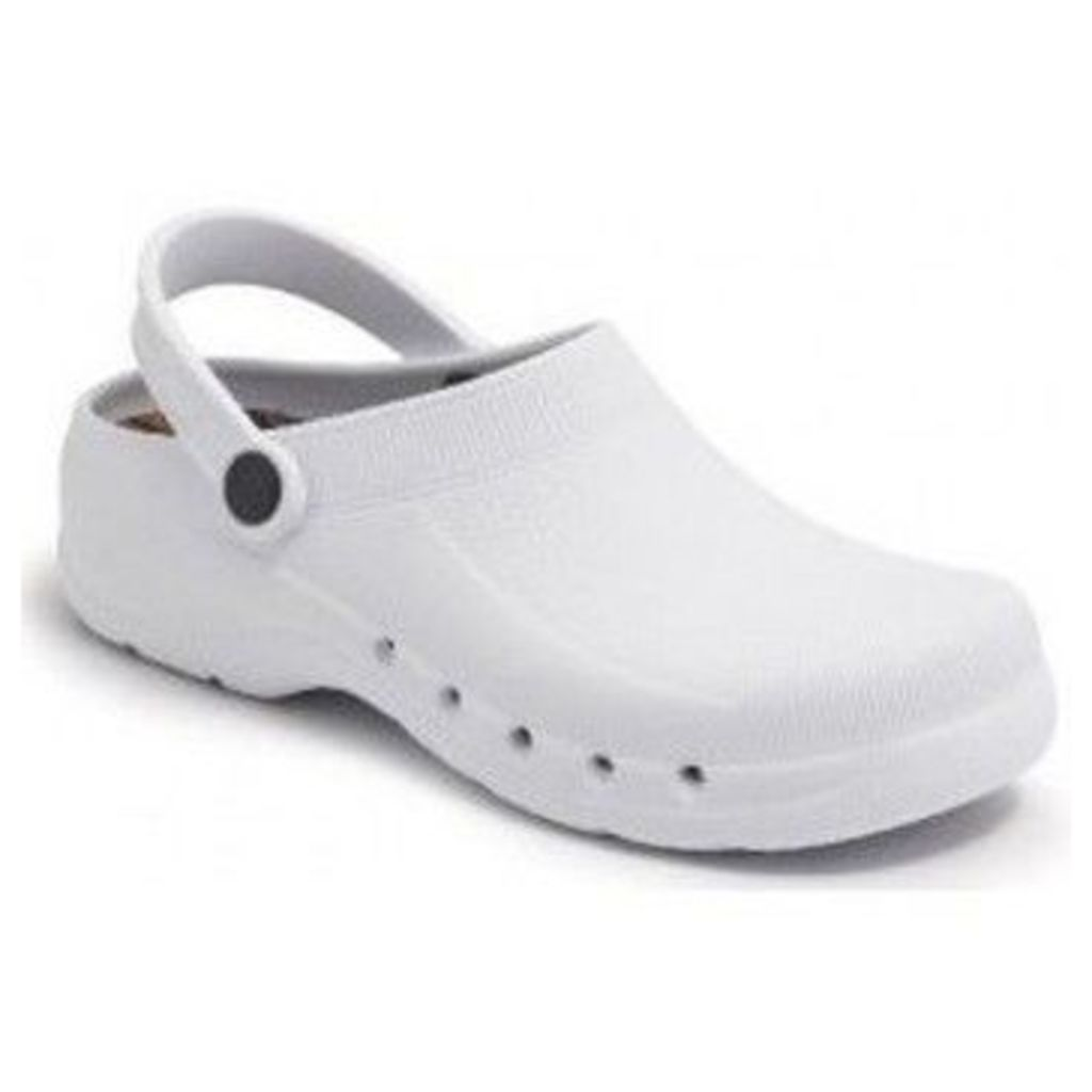 Calzamedi  clog comfortable l pvc  women's Mules / Casual Shoes in White