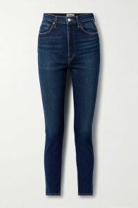MICHAEL Michael Kors - Belted Tiered Floral-print Chiffon Midi Dress - Pink
