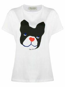 Être Cécile Big Dog oversized shirt - White
