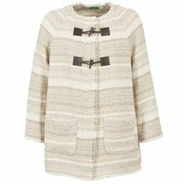 Benetton  LUMO  women's Coat in Beige