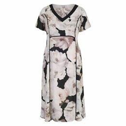 Chesca Rose Print Dress, Blush