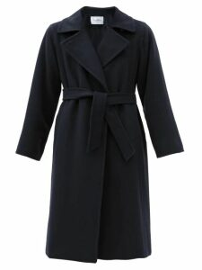 Max Mara - Manuela Coat - Womens - Navy