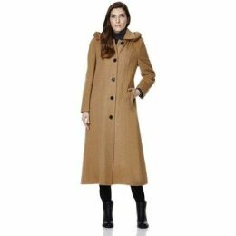 De La Creme  Cashmere Winter Coat  women's Jacket in Grey