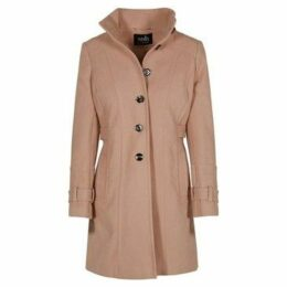 Anastasia  - Women`s Winter Military Style Coat  women's Coat in Beige