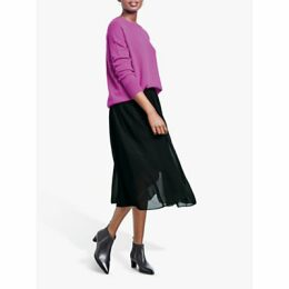 hush Marina Skirt, Black