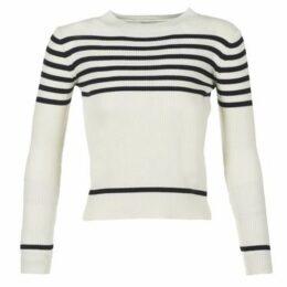 Loreak Mendian  JUXTU  women's Sweater in White