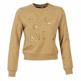 Love Moschino  ATUEL  women's Sweatshirt in Brown