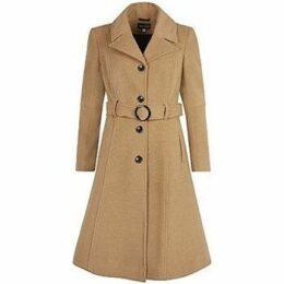 De La Creme  Cashmere Winter Coat  women's Jacket in Beige