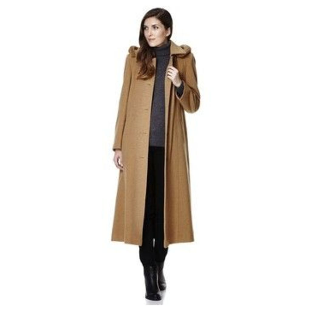 De La Creme  Cashmere Winter Coat  women's Jacket in Green