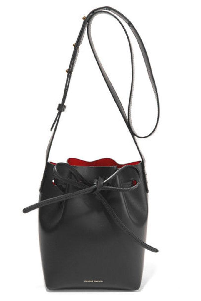 Mansur Gavriel - Mini Mini Leather Bucket Bag - Black