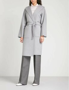 Max Mara Women's Grey Lilia Cashmere Wrap Coat