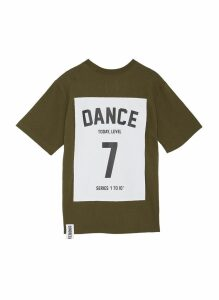 'Series 1 to 10' oversized unisex T-shirt - 7 Dance
