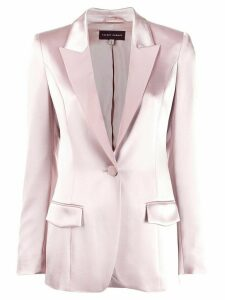 Talbot Runhof classic single-breasted blazer - Pink