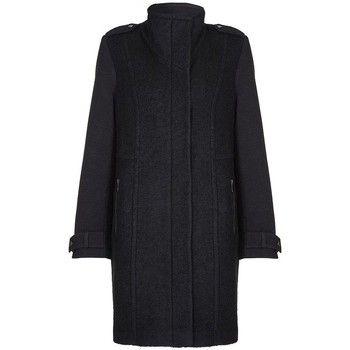 Anastasia  - Black Womens Wool Winter Coat  women's Jacket in Black