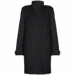 Anastasia  - Black Womens Wool Winter Coat  women's Jacket in Black