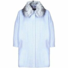 Anastasia  -  Womens Blue Snow Queen Wool Winter Coat  women's Jacket in Blue