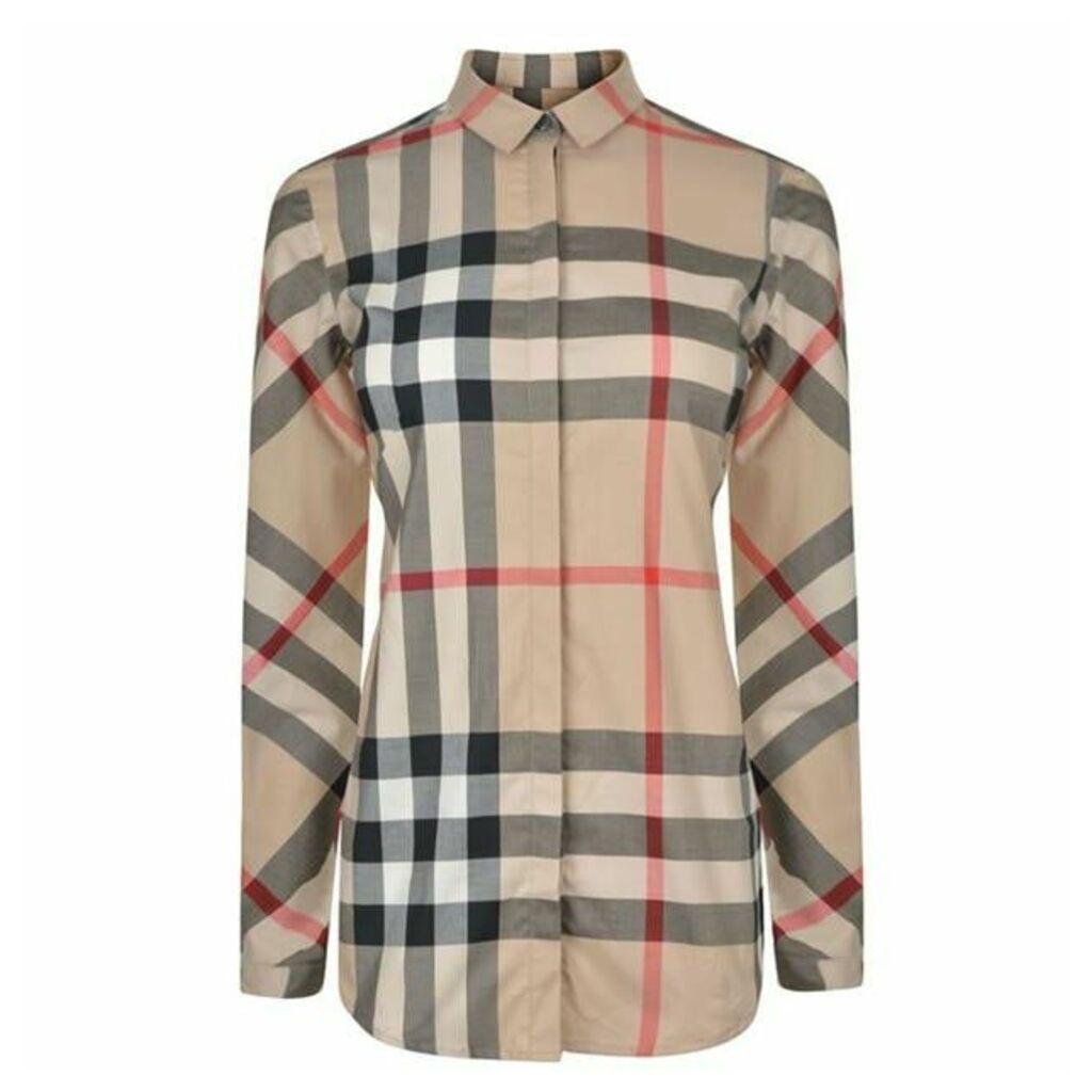 BURBERRY Classic Checked Shirt