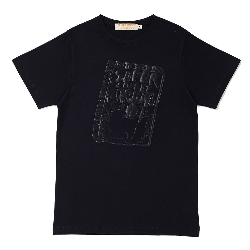 SUPERSWEET x moumi - Slick Black Cereal Tee