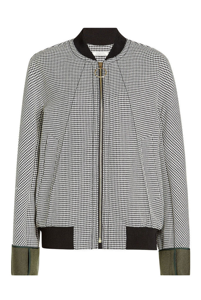 Nina Ricci Printed Cotton Jacket
