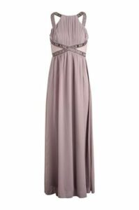 Grecian Style Maxi Dress