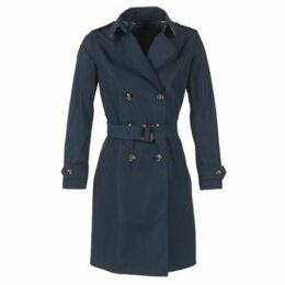 Benetton  FERNOUK  women's Trench Coat in Blue