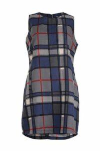 Plus Size Sleeveless Pinafore Dress