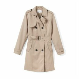 Classic Trench Coat with Belt Loops
