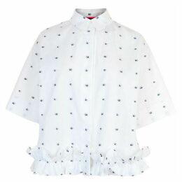 McQ Alexander McQueen Swallow Ruffle Shirt