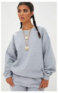 Space Grey Ultimate Oversized Sweater, Space Grey