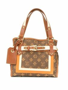 Louis Vuitton Pre-Owned Sac Rayures PM Hand Tote Bag - Brown