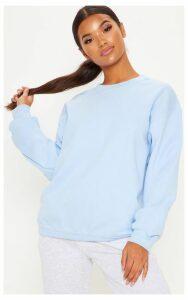 Light Blue Ultimate Oversized Sweater, Light Blue