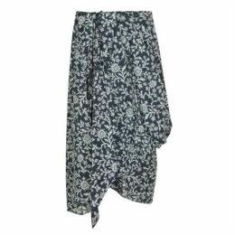 Vivienne Westwood Anglomania Bandana Flower Eight Skirt