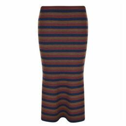 Victoria Beckham Flared Midi Skirt