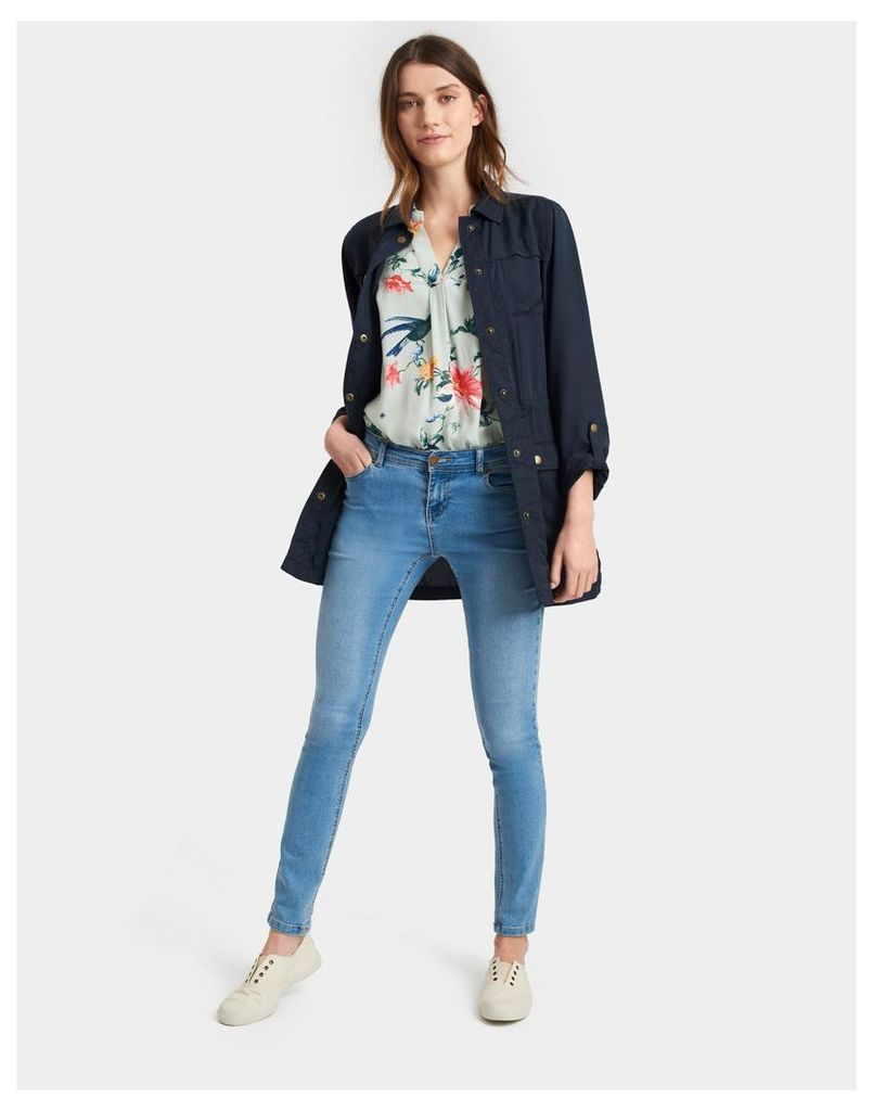 eab780790dd Marine Navy Cassidy Safari Jacket Size 14 | Joules UK by Joules ...