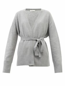 Hillier Bartley - Balloon Sleeve Silk Blend And Faux Leather Top - Womens - Blue