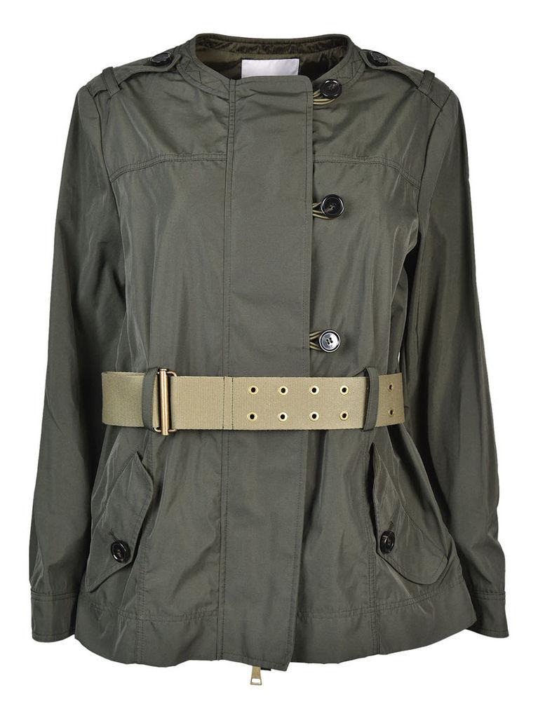 Moncler Belted Coat