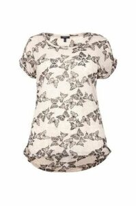 Plus Size Butterfly T-Shirt Top